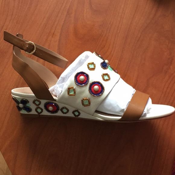 623f25a49be48 Tory burch Estella wedge sandal